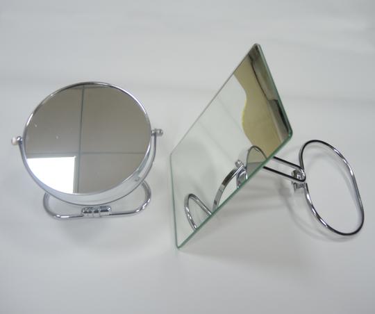 高档不锈钢折叠式化妆镜